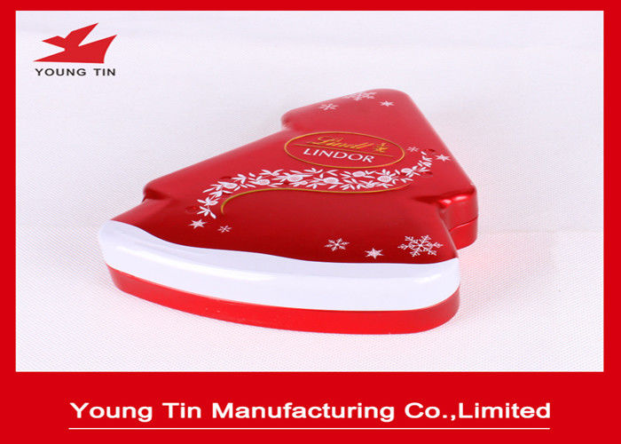 New Year Holiday Candy Gift Tins With Custom Artwork Printing and Embossing